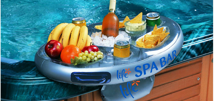 Life Inflatable Spa Bar Drinks Holder Snack Tray Hot