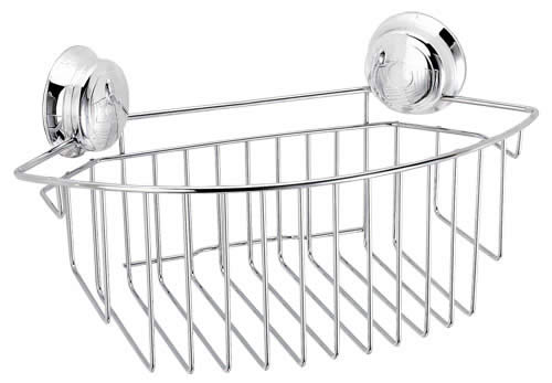 Croydex Twist N Lock Storage Range Chrome Bathroom